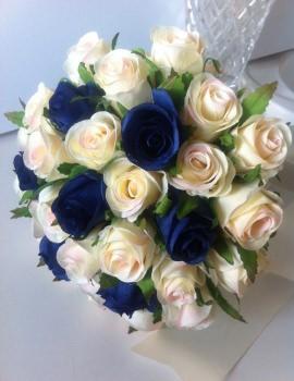 Ivory & Blue 33
