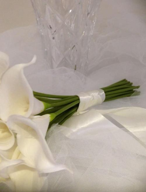 Ivory Calla Lilly package.