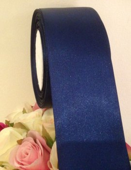 Nary Blue Satin Ribbon