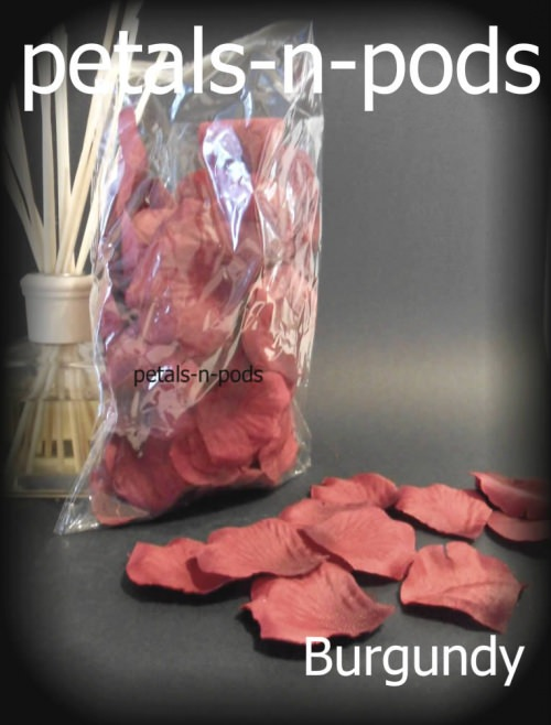 Petals - Burgundy